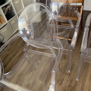 A Pair Of Ghost Chairs With Arms for Sale in Irvine, CA