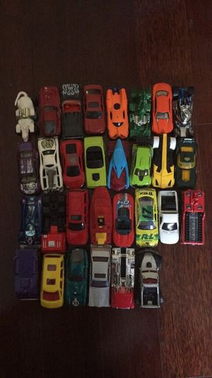 30 cars for only 10$ toy kids baby's furniture trucks ship chair dresser bike trike clothes shirt adidas Nike vs heels shoes son gift girls shelf rac for Sale in Tampa, FL