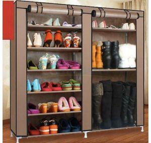 New Double Shoe Boot Closet Rack Shelf Storage Organizer Cabinet for Sale in Phoenix, AZ