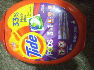 I have tide& gain pods this size for Sale in Taylors, SC