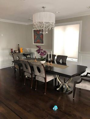Bernhardt Miramont Dining Table and 8 chairs for Sale in Edgewater, NJ