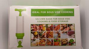 Sous Vide Bags Reusable Vacuum Sealed Bag Food Bags Storage Kit Saver for Sale in Mesquite, TX