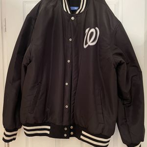 Washington National Reversible Wool Snap Jacket for Sale in Washington, DC
