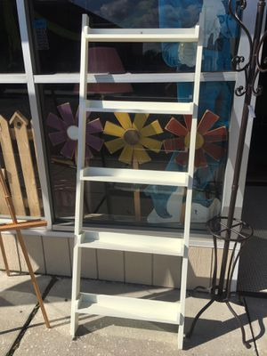 Pottery barn ladder shelf for Sale in York, PA