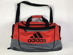Adidas duffle bag with shoulder strap orange gray for Sale in Glendale, CA