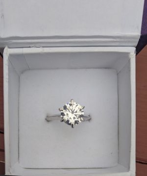 Moissanite 3 Carat Ring! for Sale in Temecula, CA