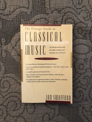 Vintage Guide to Classical Music Textbook for Sale in Palm Harbor, FL