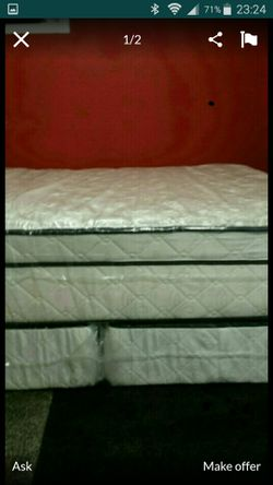 king bed pillow top and twin bed for Sale in Riverview,  FL