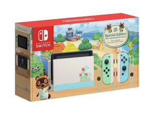 Brand New - Animal Crossing New Horizons Limited Edition Nintendo Switch Console for Sale in Gaithersburg, MD