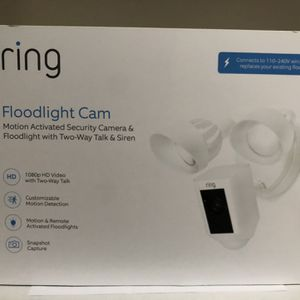Brand New Ring Floodlight Cam for Sale in Alhambra, CA