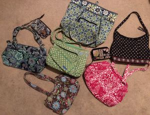 Bundle of 6 Vera Bradley Purses and 3 Wallets! for Sale in Somerset, PA