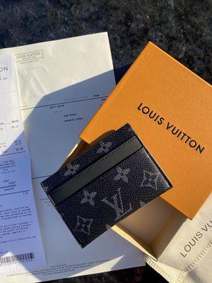 Louis Vuitton Porte Cartes Double Monogram Eclipse for Sale in Tracy, CA