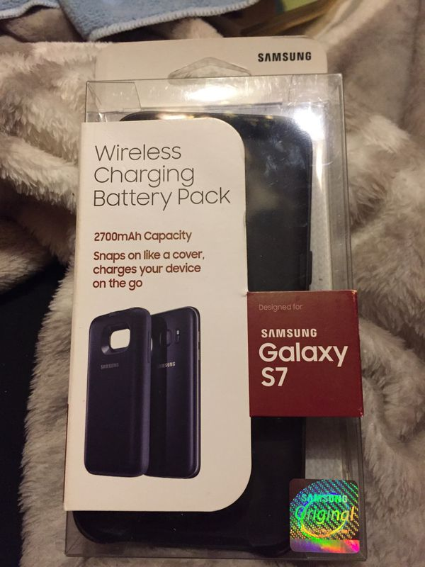 Samsung Galaxy S 7 Wireless Charging battery pack