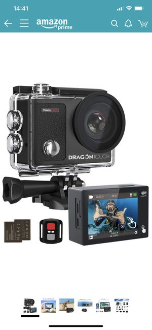Dragon touch action camera for Sale in Fontana, CA
