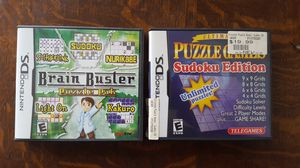 Brain Buster Puzzle Pak & Ultimate Puzzle Games Sudoku Edition..Nintendo DS 2007 for Sale in Mount Prospect, IL