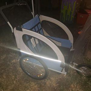 Bike trailer stoller for Sale in Bedford, TX