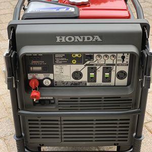New portable Honda EU7000is Generator inverter 0 Hrs for Sale in Manalapan Township, NJ