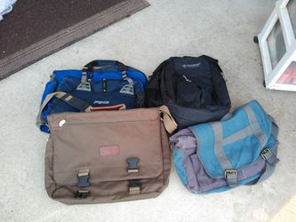 Jan sports backpack & assorted computer bags for Sale in Raleigh,  NC