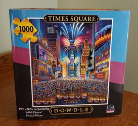1000 Piece TIMES SQUARE Puzzle for Sale in Everett,  WA