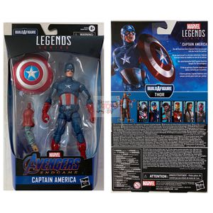 CAPTAIN AMERICA & BAF PART Hasbro Marvel Legends AVENGERS END GAME 6inch FIGURE for Sale in Rancho Cucamonga, CA