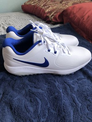 Mens White Blue Nike Lunaron Golf Shoes for Sale in San Diego, CA