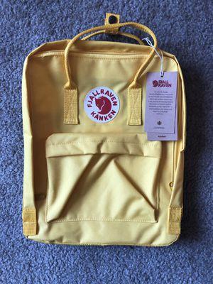 Fjallraven Kanken Backpack color Yellow for Sale in Norwalk, CA