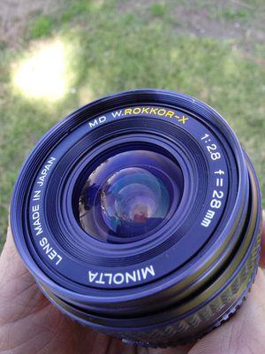 Minolta W.Rokkor-X 1:2.8 28mm PRISTINE for Sale in Montclair, CA