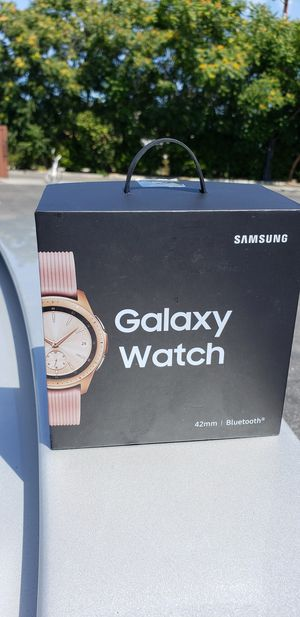 Samsung watch 42m gps+ wifi only punk new for Sale in Los Angeles, CA