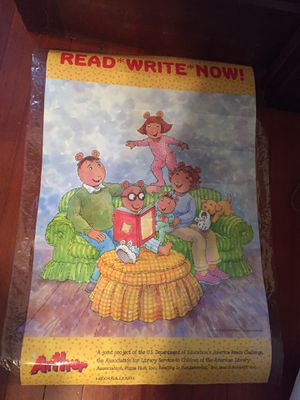 Reading poster for Sale in Tacoma, WA