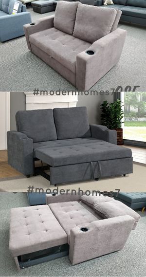 Loveseat pullout sofa bed sleeper couch for Sale in Buena Park, CA