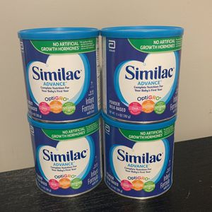 Similac Advance 4 Packs for Sale in Waterbury, CT