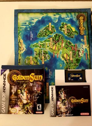 MINT Original Golden Sun Lost Age Complete CIB for Sale in Oak Glen, CA