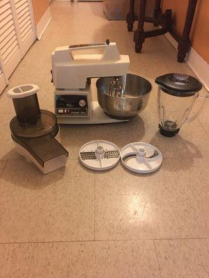 Oster Regency Kitchen Center Multi Purpose (Mixer, Chopper, Food Professor & Blender) for Sale in Boston, MA