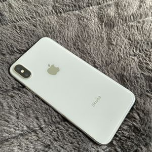 iPhone X Silver 256GB Used No Damage for Sale in Souderton, PA