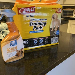 Puppy Training Pads & Spray for Sale in Dallas, TX