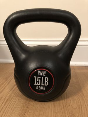 Kettle Bell - 15 LB (6.8 KG) for Sale in Morrisville, NC