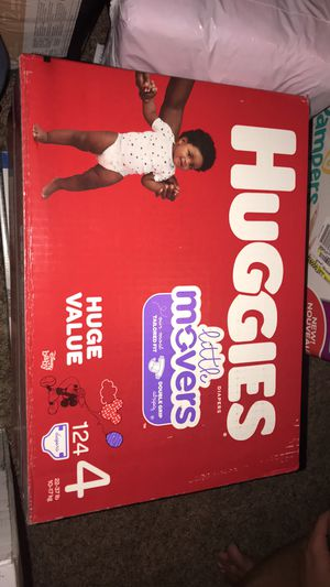Huggies diapers size 4 for Sale in Grove City, OH