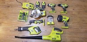 Ryobi cordless power tool kit for Sale in Aberdeen, WA