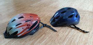 2 Bike Bicycle Helmets Schwinn and Bell for Sale in Fairview, OR