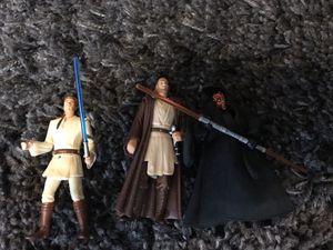 "Star Wars action figures - set of 3 (3.75"") for Sale in San Antonio, TX"