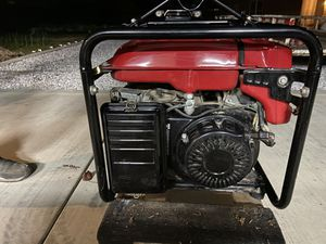 Honda EX 5000 generator for Sale in Fresno, CA