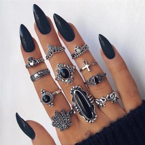 ❤️ON SALE❤️ 11 piece Silver plated Ring Set🌸 for Sale in Dallas, TX