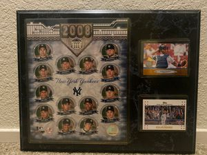 New York Yankee plaque for Sale in Rancho Cucamonga, CA