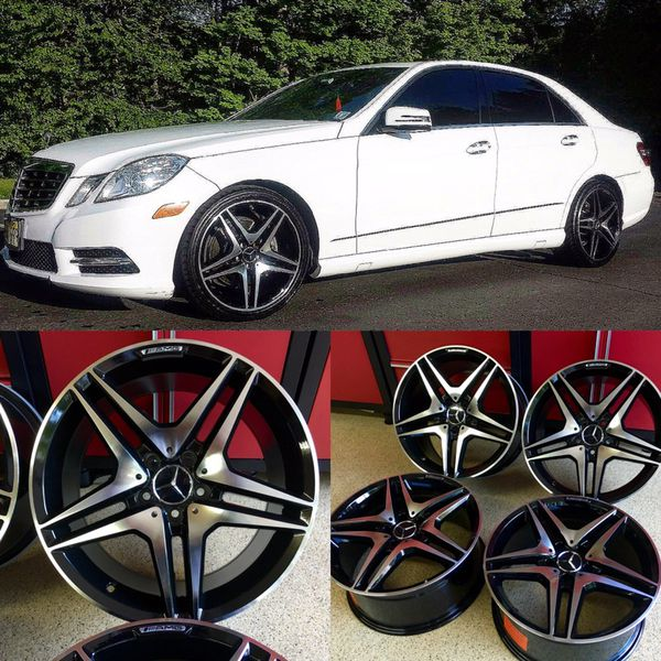 5 Stars Wheels AMG Mercedes E63s 18 Inches Rims For Sale