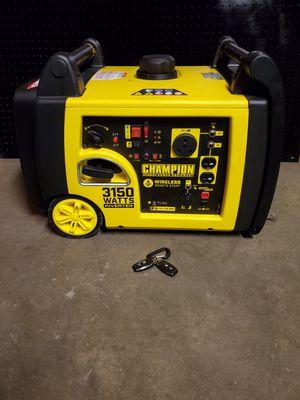 Champion Inverter Generator 3150 for Sale in Paramount, CA