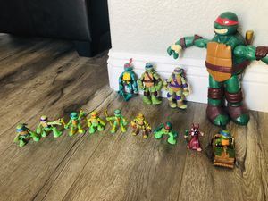 Teenage Mutant Ninja Turtle Lot for Sale in Murrieta, CA