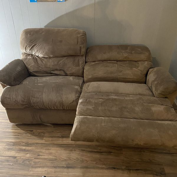 Brown Reclining Couch