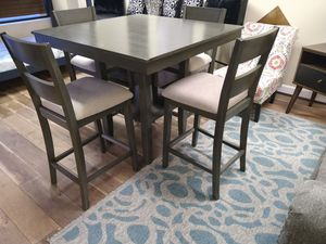 Fantastic Deal! Brand New 5pc Grey Counter Height Kitchen Table Set for Sale in Virginia Beach, VA
