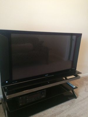 50 inch tv with stand for Sale in Crownsville, MD