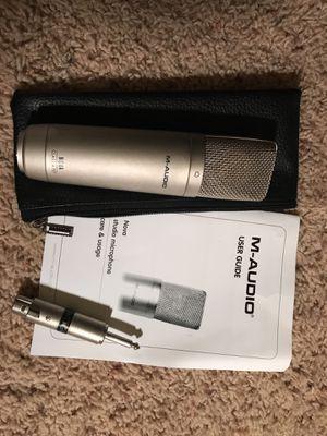M-AUDIO NOVA Studio Microphone/ Condenser Microphone for Sale in Manassas, VA